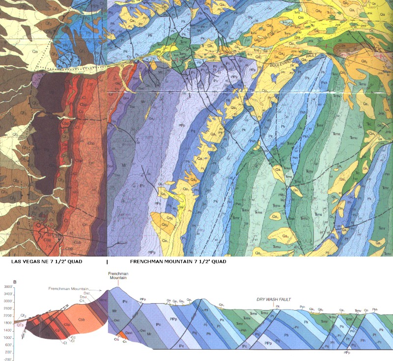 Geologic Map of Frenchman Mountain on raised-relief map, peru geology map, thematic map, uk great britain map, flow map, isopach map, strike and dip on map, alabama geological formation map, pictorial maps, william smith, relief map, treasure map, index map, topographic map, elevation map, russia geology map, elwha washington location on map, world map, contour map, aeronautical chart, choropleth map, conic projection map, geotechnical engineering, papua new guinea geological map, bathymetric map, rocks and minerals washington state map, geographic map, nautical chart, weather map,